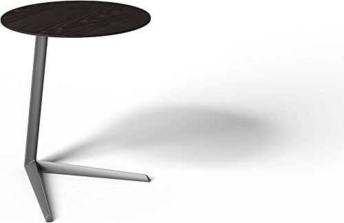 BDI Furniture Milo Laptop Table, Charcoal Stained Ash