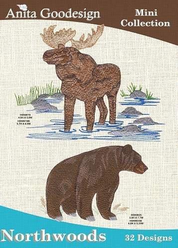 Anita Goodesign Embroidery Machine Designs (Animals Machine Embroidery Designs)