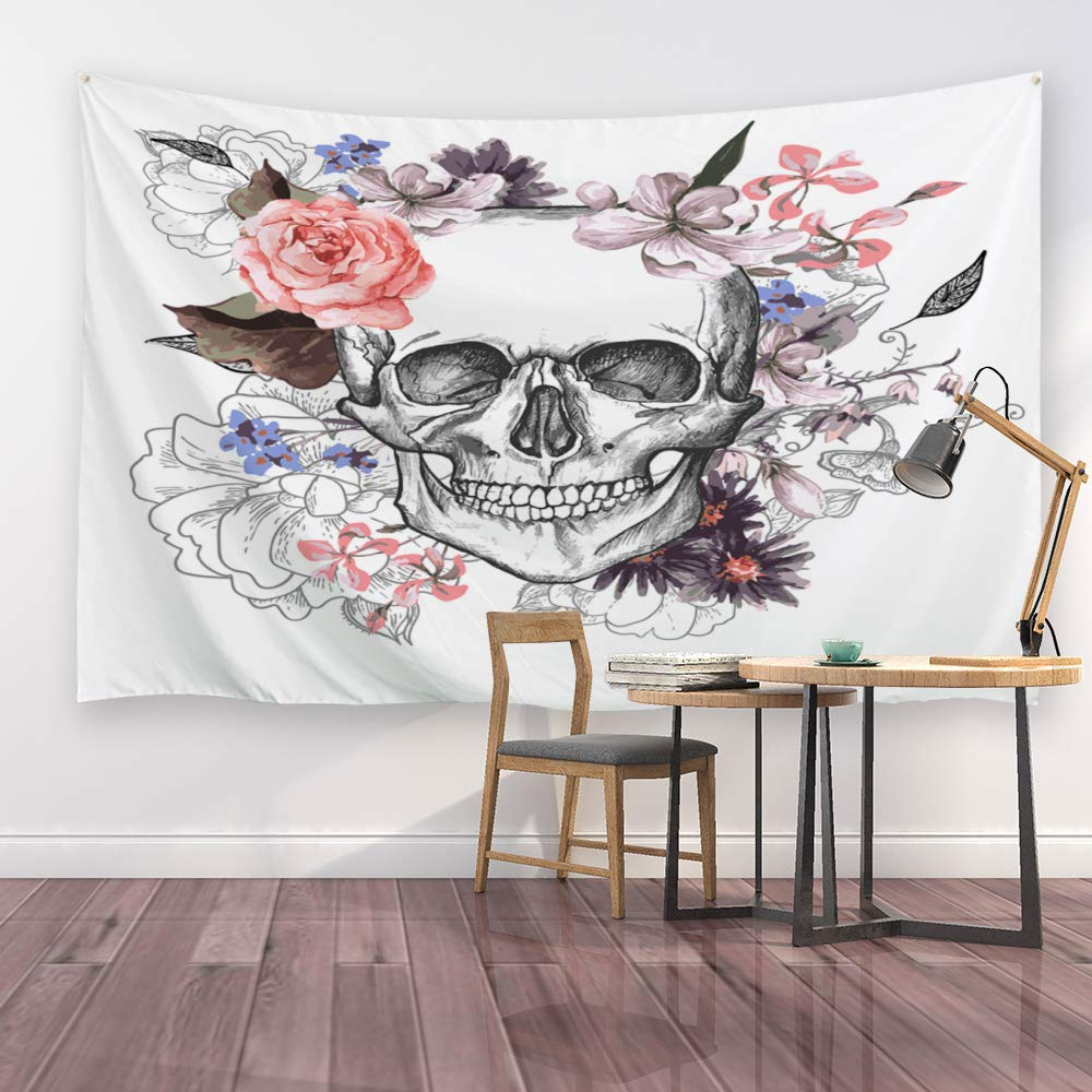 Ortigia Tapestry Wall Hanging Home Decor for Living Room Bedroom Dorm Room Polyester Fabric Needles Included 230cmx180cm - Happy Minions 90 W x 71 L
