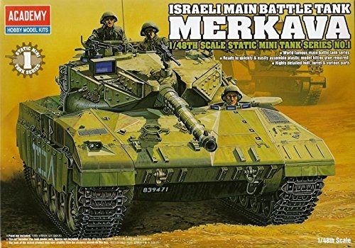 1/48 ISRAELI MAIN BATTLE TANK MERKAVA / ACADEMY MODEL KIT / #13005 /item# G4W8B-48Q31404