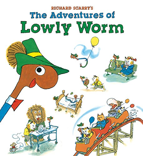 Richard Scarrys Adventures Lowly Worm product image