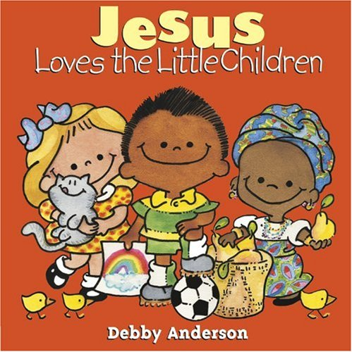 Jesus Loves Little Children Cuddle