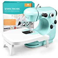 Sewing Machine, Mini Sewing Machine for Beginner with Eco-Friendly Material, Dual Speed Portable Sewing Machine with…