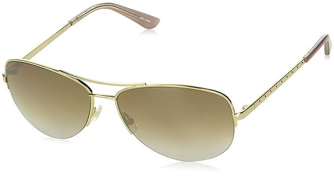 f424833d6df6 Amazon.com: Juicy Couture Women's Ju 594/s Aviator Sunglasses LGH ...
