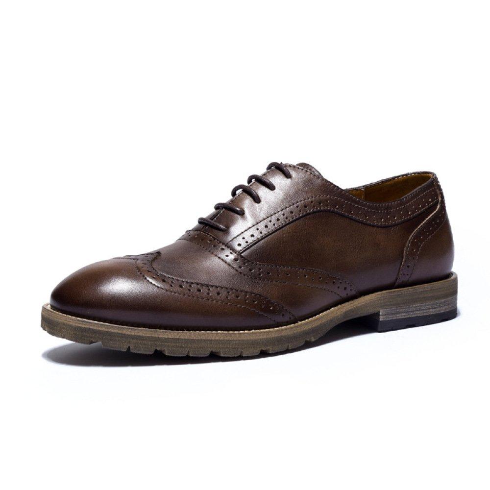 GTYMFH Herbst Leder Herren Atmungsaktiv Schuhe Freizeitschuhe