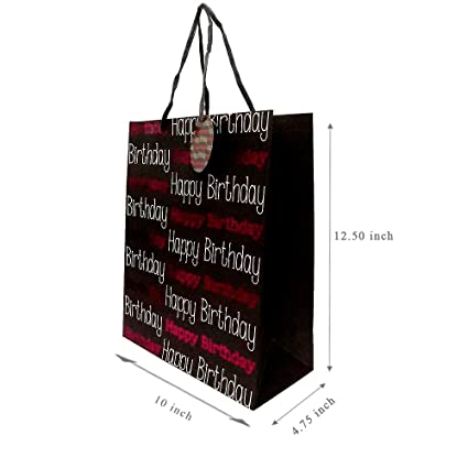 Ezellohub Fancy Gift Printed Paper Bag Carry Packing