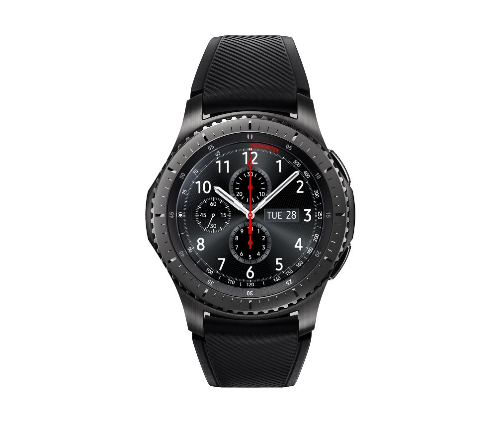 Amazon.com  Samsung Gear S3 Frontier Smartwatch (Bluetooth) 75087002bf84