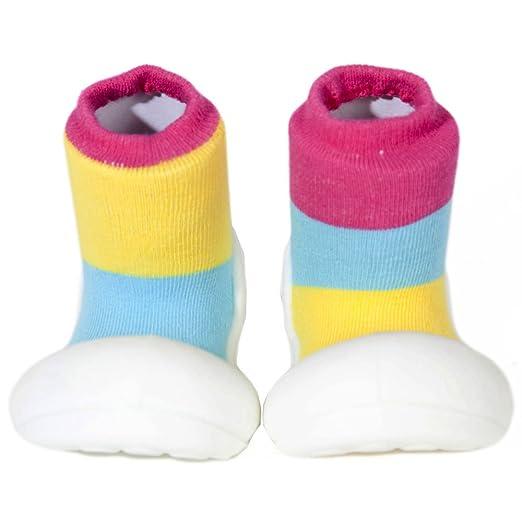7407195f60ed2 Attipas Big Toe Box Toddler ShoeTOGETHER Pink Medium