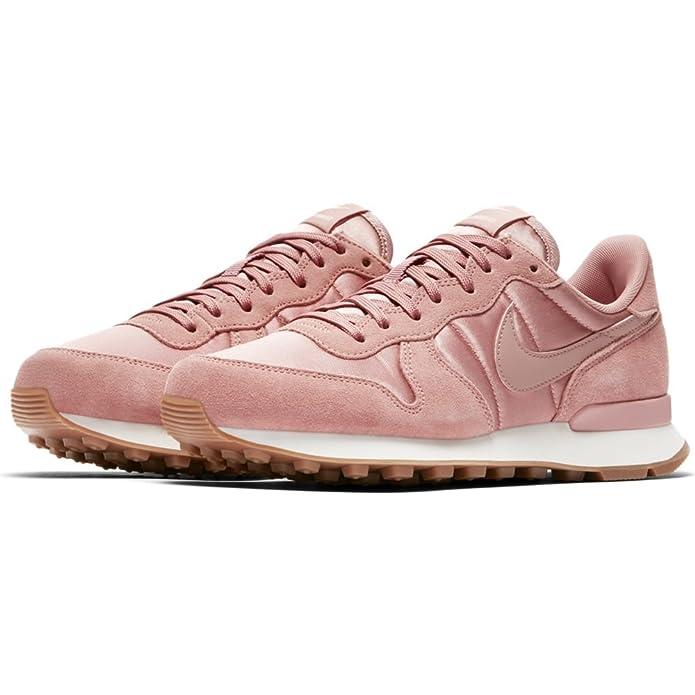 Nike Damen Internationalist Rosa LederTextil Sneaker 39