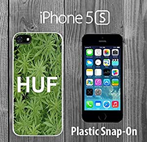 HUF Custom made Case/Cover/skin FOR iPhone 5/5s -White- Plastic Snap On Case ( Ship From CA)