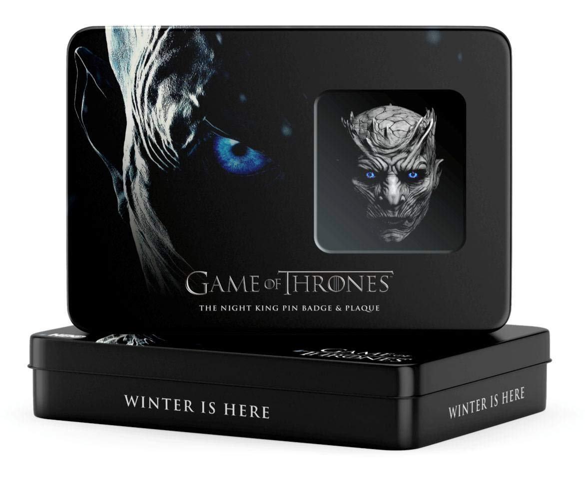 DTR Game of Thrones Pin Badge /& Plaque Night King Pins Brooches
