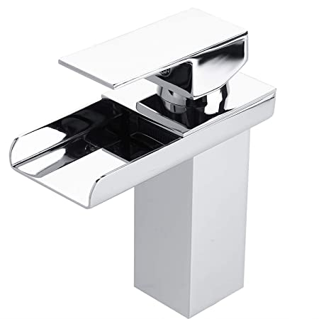 Leshp Bathroom Taps Chrome Mono Basin Sink Mixer Tap Basin Taps For