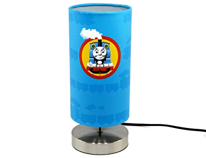 Wonderful Thomas The Tank Engine Lamp Light Lampshade With Chrome Base Boys Bedroom  Lamps Nursery Accessories Night Light Gifts Bedside Table Desk:  Amazon.co.uk: ...
