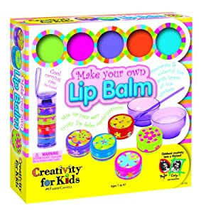 Make your own lip balm toys games for Arts and crafts sets for toddlers