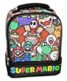Super Mario Lunch Box Soft Kit Dual Compartment Insulated Cooler Characters