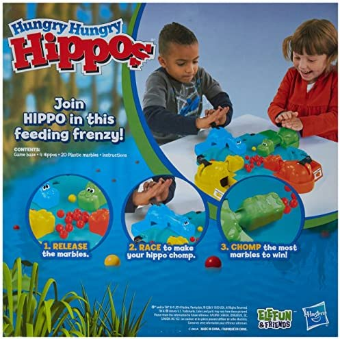 toys, games, games, accessories,  board games 3 image Hungry Hungry Hippos in USA