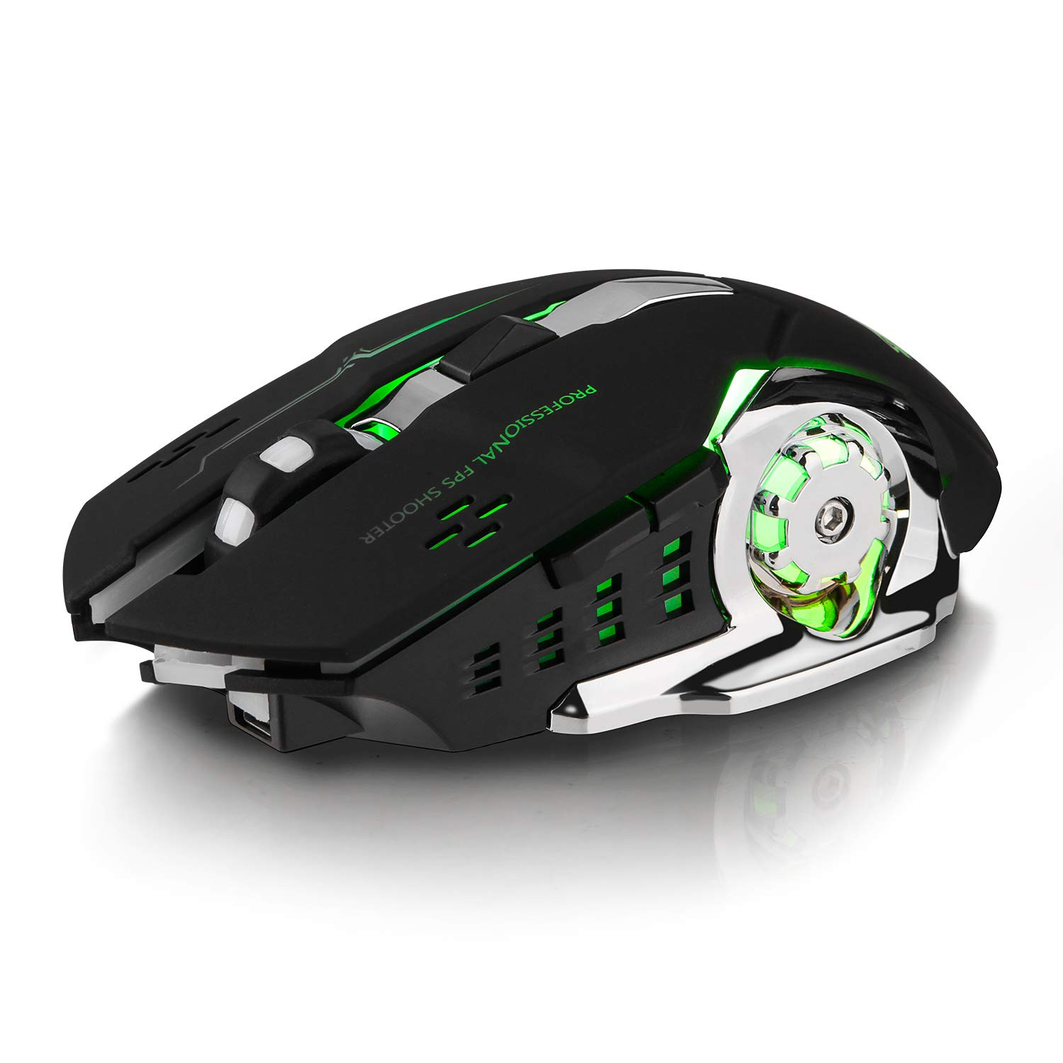 Mouse Gamer : Image Sin Cable Con 1800 Dpi 7 Colores