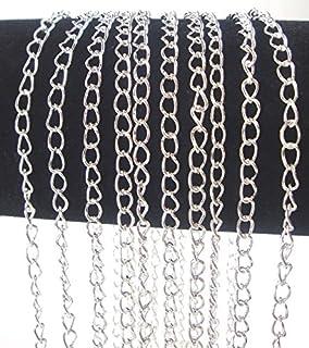 10 Schwarz Organza mit Wachsband 44cm Halsband Schmuckband Halskette C178