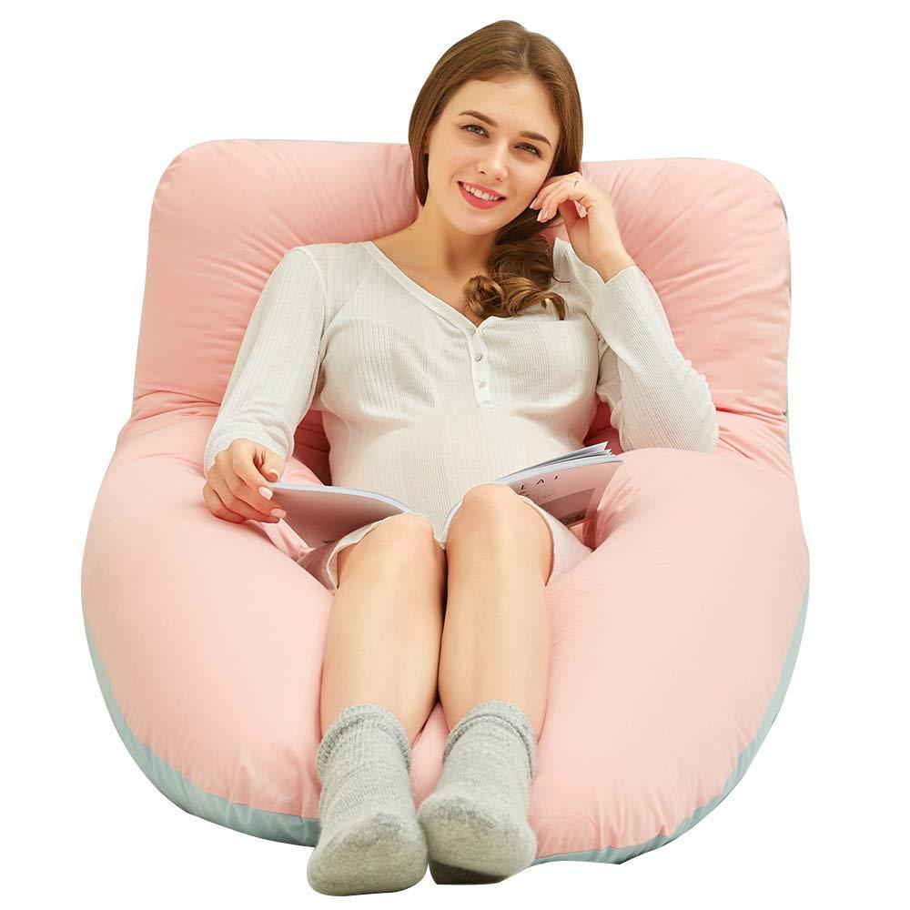 Joyourbaby フルボディ 59インチ フルボディ B07L6CWHTV 妊婦用枕 U字型 マタニティ スリーピングピロー 取り外し可能なカバー付き 59'' マタニティ Blue&pink B07L6CWHTV, なかよし屋 小豆島の美味見つけた:e58d29d3 --- bennynews.com