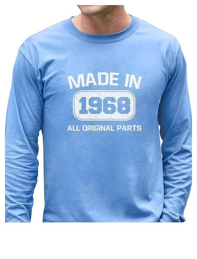 Tstars - Made in 1968 All Original Parts 50th Birthday Gifts Long Sleeve T-Shirt GZalttMgC