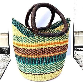 FairTale Bolga Tote Market Basket from Bolgatanga, Ghana