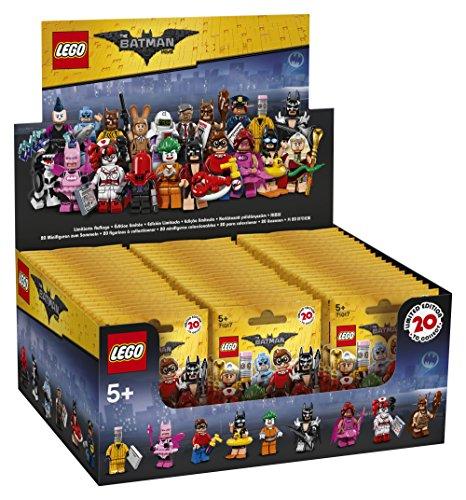 Series 1 Miniature (LEGO 6175011 Display Batman Minifigures Series - 1 Sealed Box with 60 Sealed Bags)