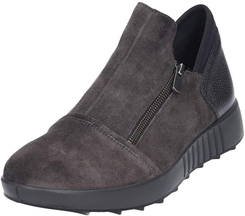 LEGeRO Women's Low-Top Sneakers Grey (Lavagna (Dunkelgrau) 08)