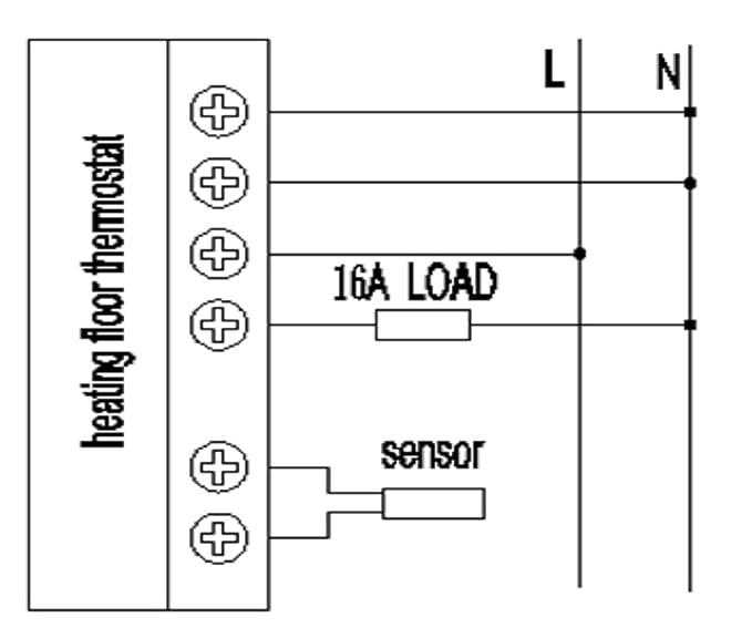 SM-PC®, Raumthermostat Thermostat programmierbar Touchscreen #832 ...