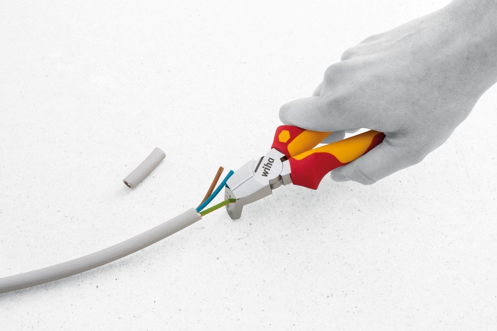 Alicates de instalaci/ón TriCut Professional electric Z 14 1 06 170 mm Professional electric Ref WIHA 38552 Z14117006