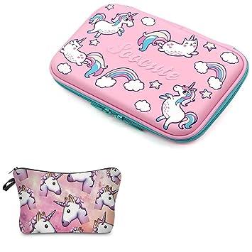 Leah s Fashion estuche Set Unicornio Precipitados Hard Top ...