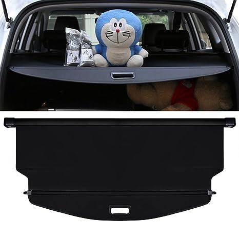 E Cowlboy Upgrade Version Cargo Cover For Chevrolet Equinox 2018 2019 Retractable Trunk Security Shield Shade Black