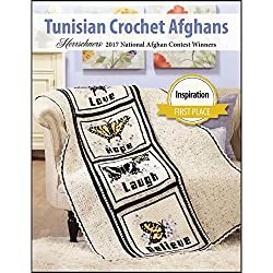 Herrschners® 2017 Award Winning Tunisian Afghans Crochet Book