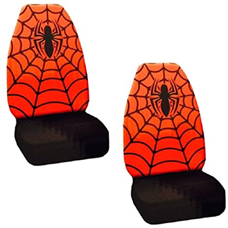 Plasticolor Marvel Spiderman High Back Seat Cover 006937R01