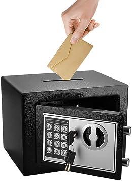 Flexzion Caja fuerte con Depósito Electrónico Con Gota abertura de ...