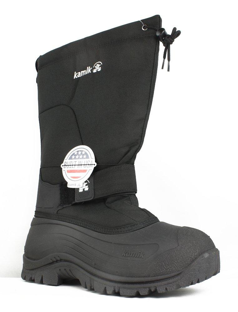 Kamik Men's Greenbay 4 Cold Weather Boot,Black,12 M by Kamik