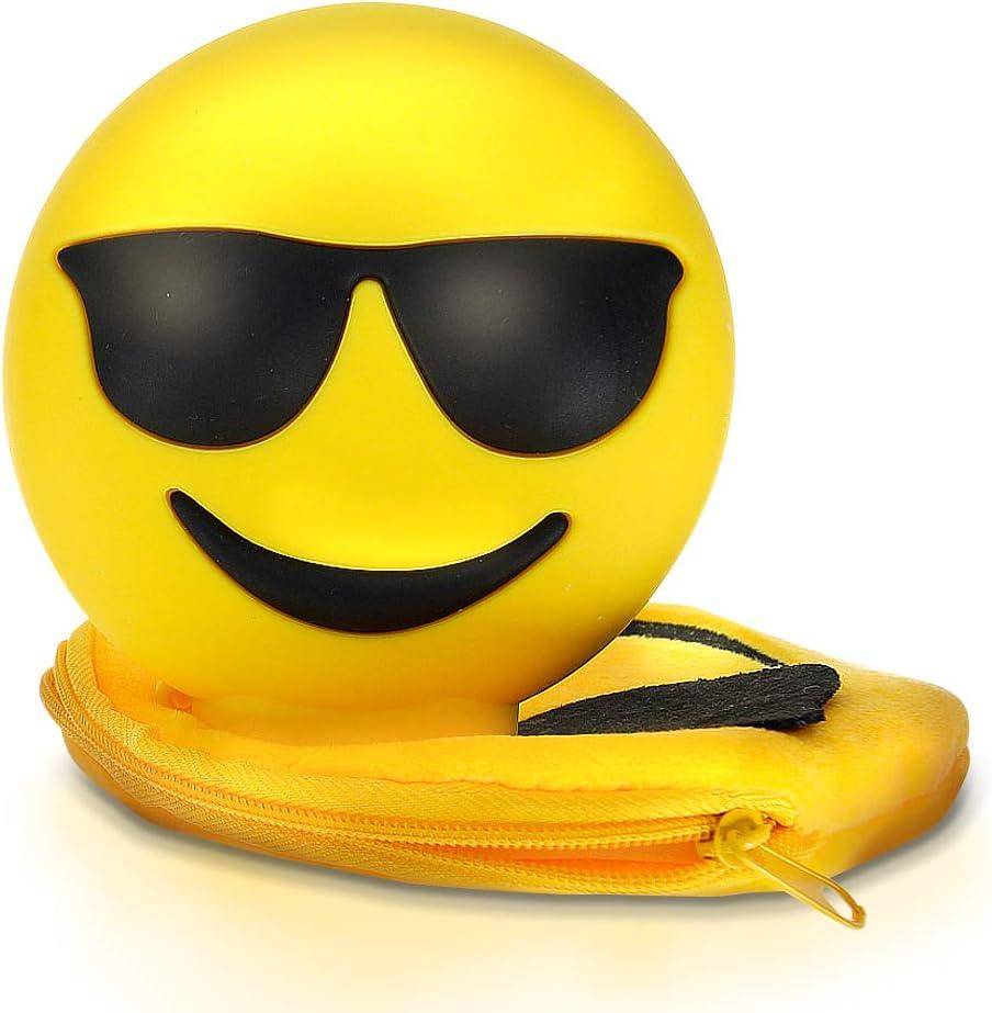 Kawkaw Emoji Powerbank Mit 8800 Mah Und 2x Elektronik