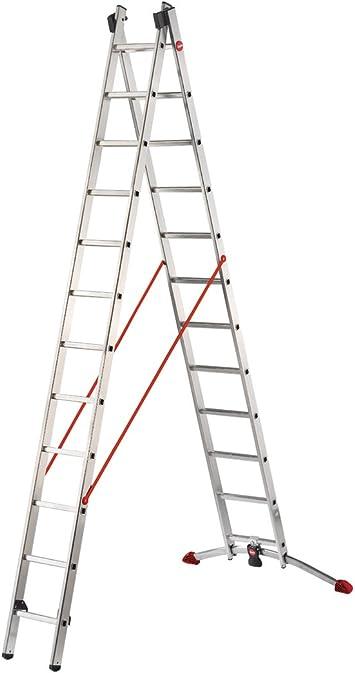 Hailo 9412-501 Escalera multifunción, plateado: Amazon.es: Bricolaje y herramientas