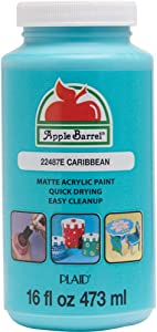 Apple Barrel Caribbean Acrylic Paint, 16 oz