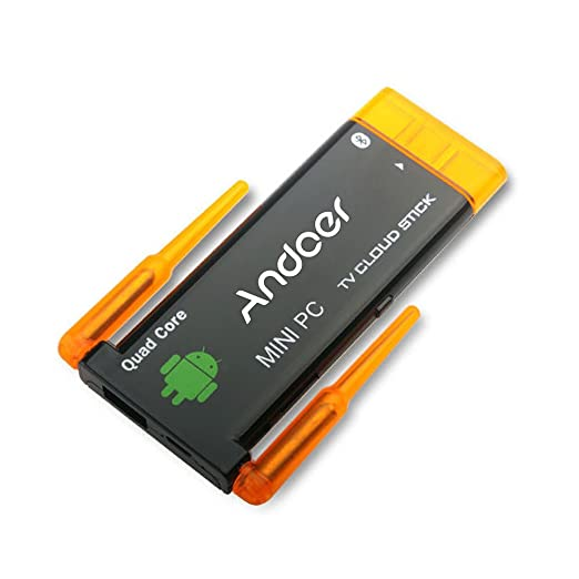 2 opinioni per Andoer® CX919 Android 4.2 mini PC Box TV Stick Quad Core 2G / 8GB Bluetooth