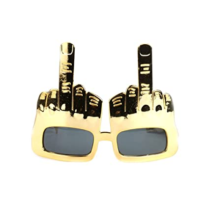 6f26cfa21701 Amazon.com: Fighting to Achieve Creative Middle Finger Flip Off Hand ...