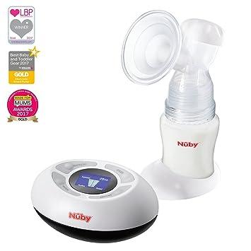 Extractor de leche materna digital y eléctrico Natural Touch de Nuby: Amazon.es: Bebé