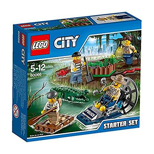 Lego City - 60066 - Jeu De Construction - Ensemble De Démarrage De La Police Des Marais