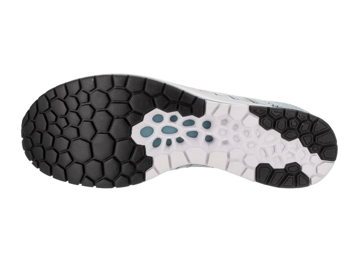 NIKE Unisex Flyknit Racer Running Shoe B078SQMLFZ 9 D(M) US|Cerulean/Thunder Blue