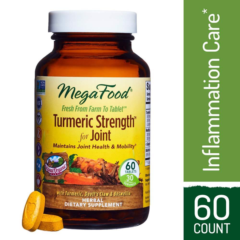 Megafood, Turmeric Strength Joint, 60 Tablets