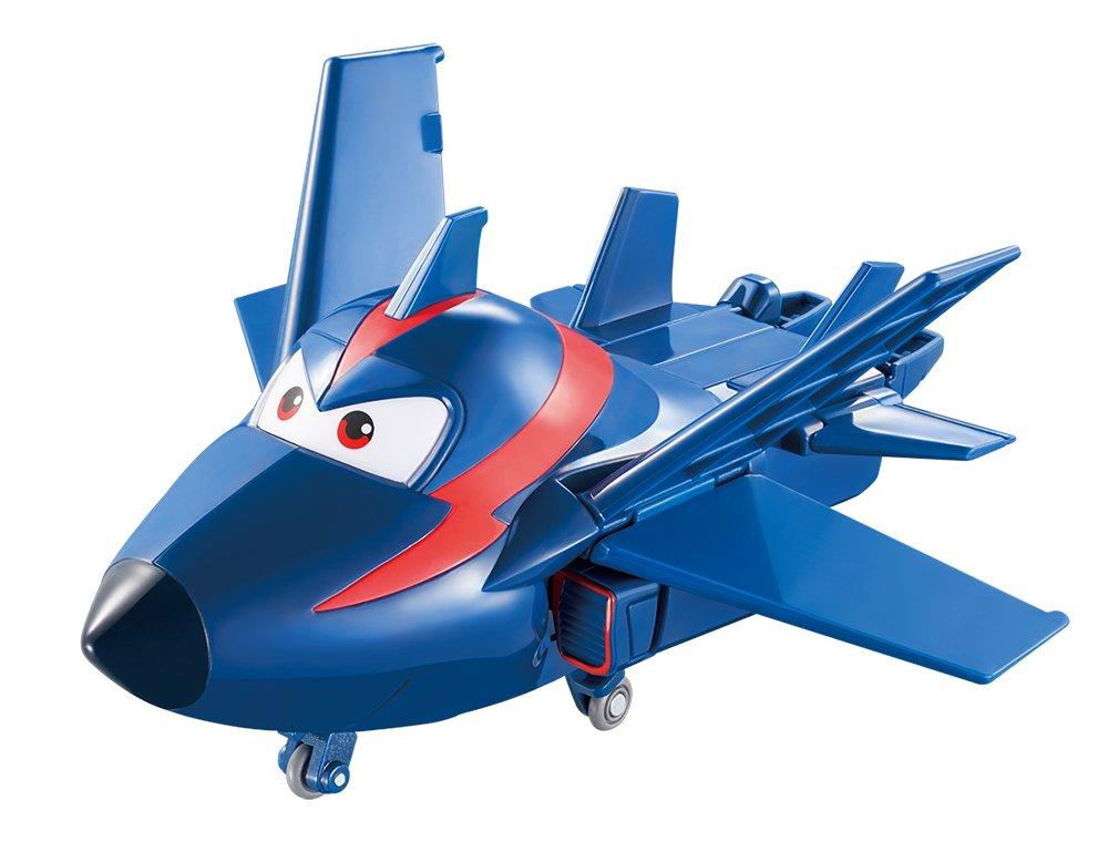 Gratis Kleurplaten Planes.Amazon Com Super Wings Transforming Agent Chase Toy Figure