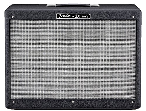 (Fender Hot Rod Deluxe 112 Enclosure 80-Watt 1x12-Inch Guitar Amp Cabinet - Black)