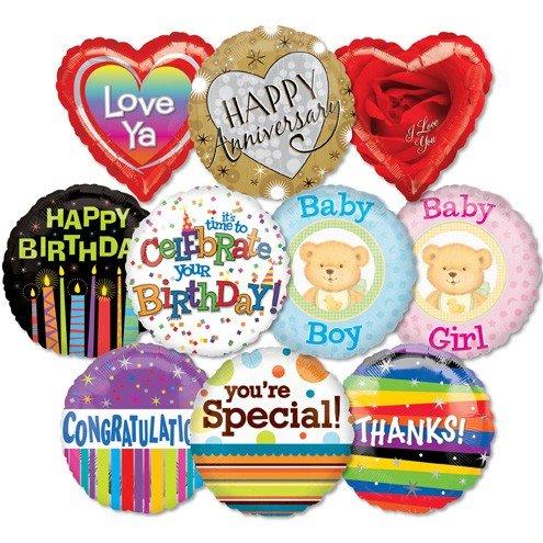 Std Everyday Message Economy Balloon ProfitPak 50pk by 99 LuftBalloons