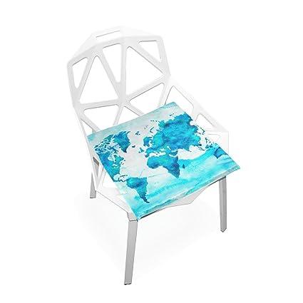 Amazon.com: Plao silla almohadillas para orejas mapa del ...