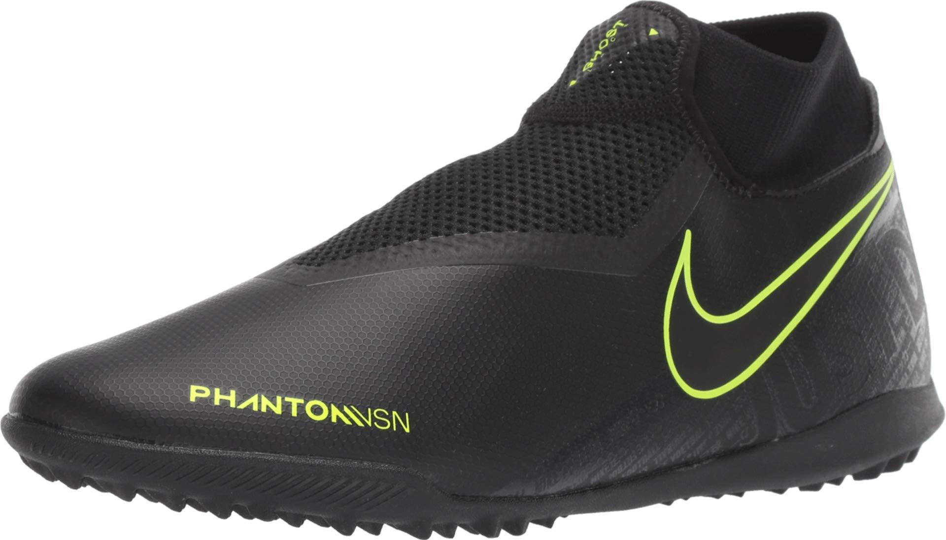 Nike Phantom Vision Academy DF TF - Black-Volt 10.5 by Nike