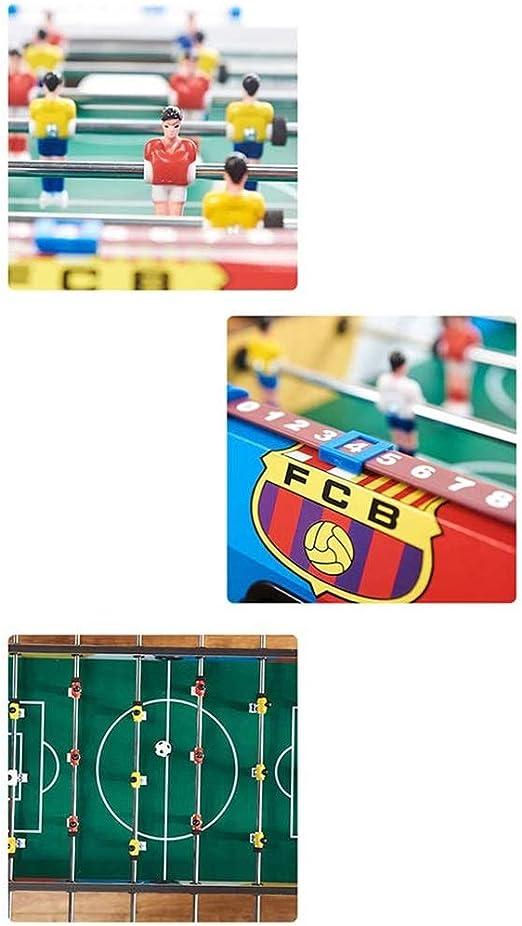 ADHW Participar 4 Filas Futbolín Juego de Mesa de Madera Jugador Sólido Baby Foot Infantil para Niños Fútbolista Deporte Patada de Mesa Mesa de Fútbol Futbolín Juego: Amazon.es: Hogar